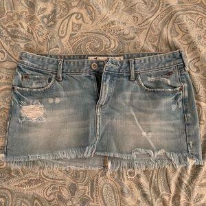 HOLLISTER Mini Jean Skirt SIZE 3 Women's